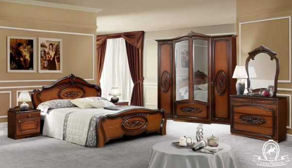 Спальня Виктория 4 Д орех