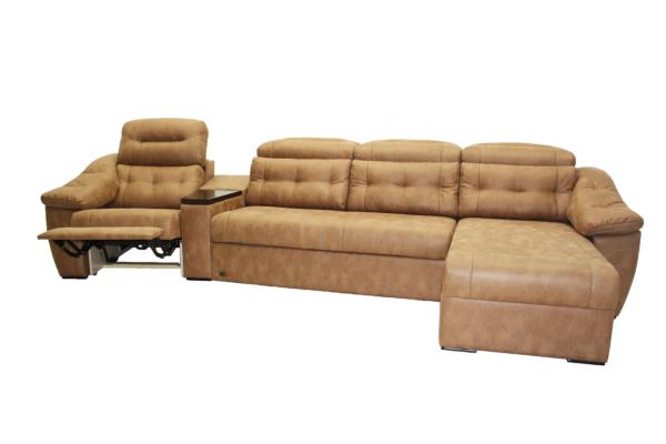 Челси 1R коричневый с разлож.креслом