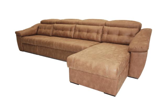 Челси 2R коричневый со сложенным креслом