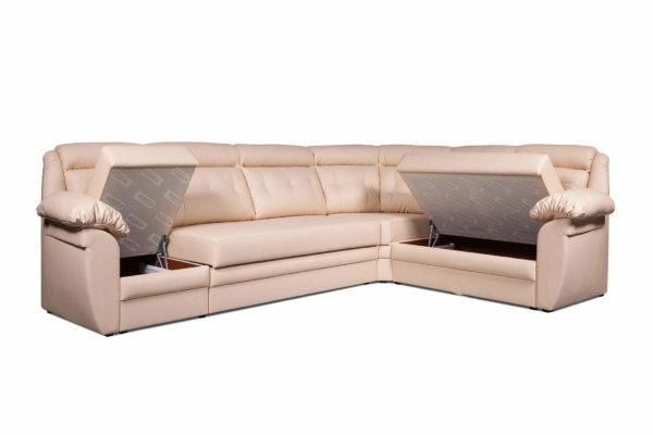Угловой диван Джерси Премиум 2 с поднятыми....