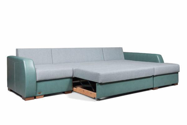 диван угловой Лацио М Премиум разложенный