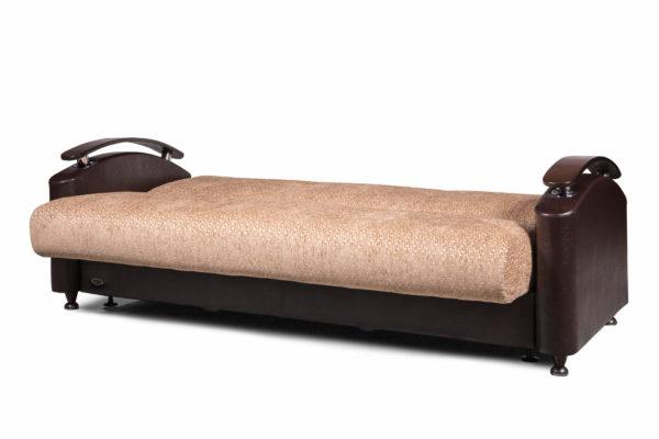 Прямой диван Дубай разложенный