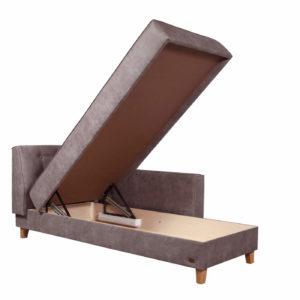 Угловая тахта Корсика с поднятым ящиком