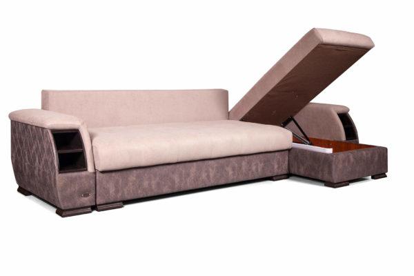 диван угловой Ричмонд с открытым ящиком