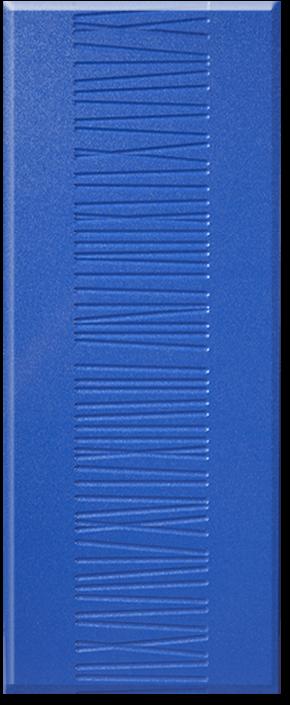 Кухня Оля фасад МДФ соломка центральная синий глянец перламутр