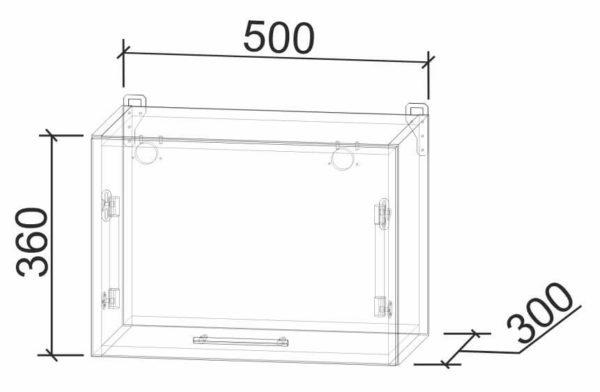 Размеры и схема газовка ВШГ50 модуль