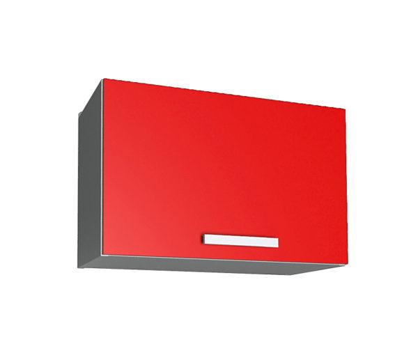 Шкаф для вытяжки ВШГ50 красный (модуль)