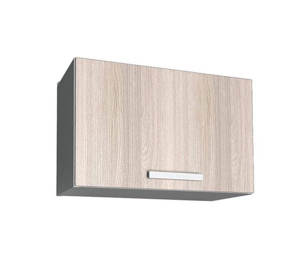 Шкаф для вытяжки ВШГ50 ясень светлый