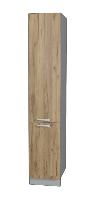 Шкаф пенал НШП №2-2145 (модуль) дуб золотой
