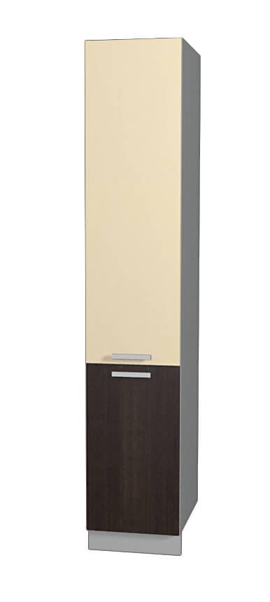 Шкаф пенал НШП №2-2145 (модуль) ваниль дуб венге