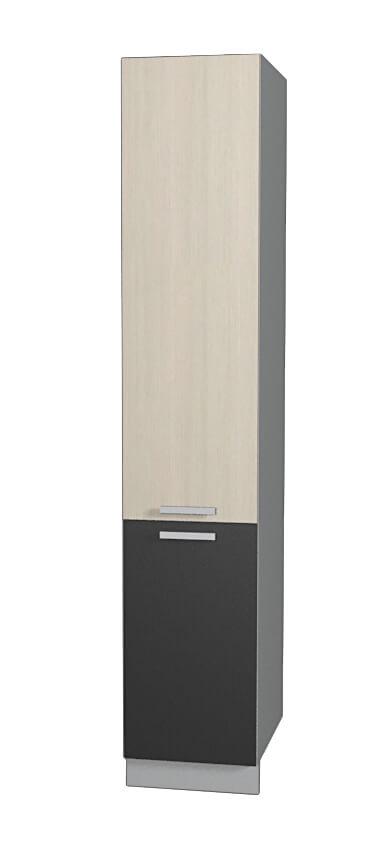 Шкаф пенал НШП №2-2145 (модуль) вудлайн антрацит