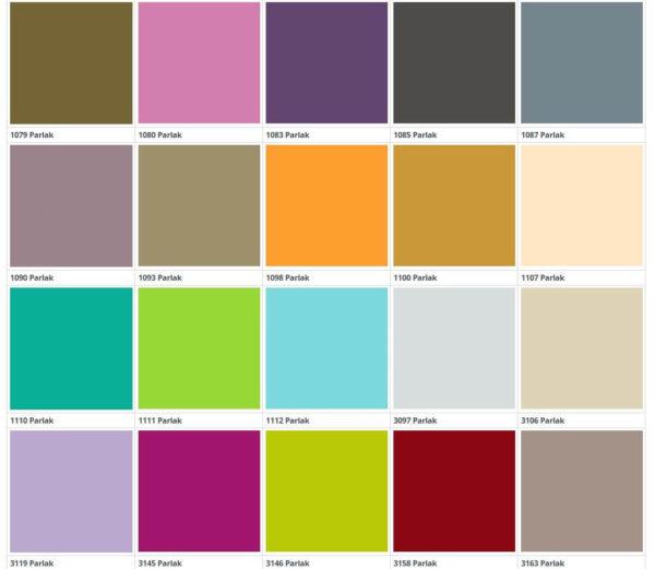 Цвет фасадов из пластика Д-6 1 группа 1 кухня Симпл