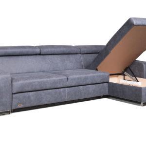 диван угловой Эдисон с разложенным ящиком