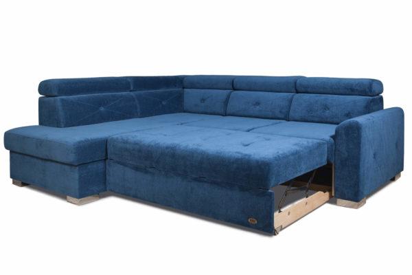 диван угловой Нельсон разложенный