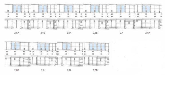 Модули кухни мила крафт прямой