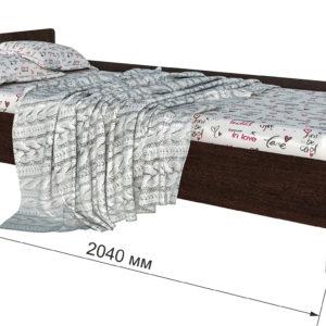 Кровать детская одноярусная Анеси 4 Дуб венге