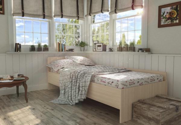 Кровать детская одноярусная Анеси 4
