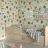 Кровать детская одноярусная Анеси 5