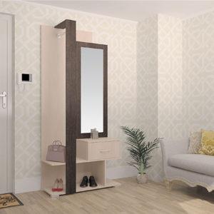 Мебель для прихожей Вита-3 Дуб молочный Дуб венге