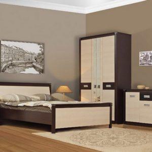 Набор мебели Стелла венге/дуб линдберг в интерьере