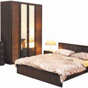 Набор мебели Волжанка венге/коричневый