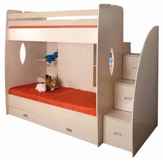 Кровать двухярусная Д1