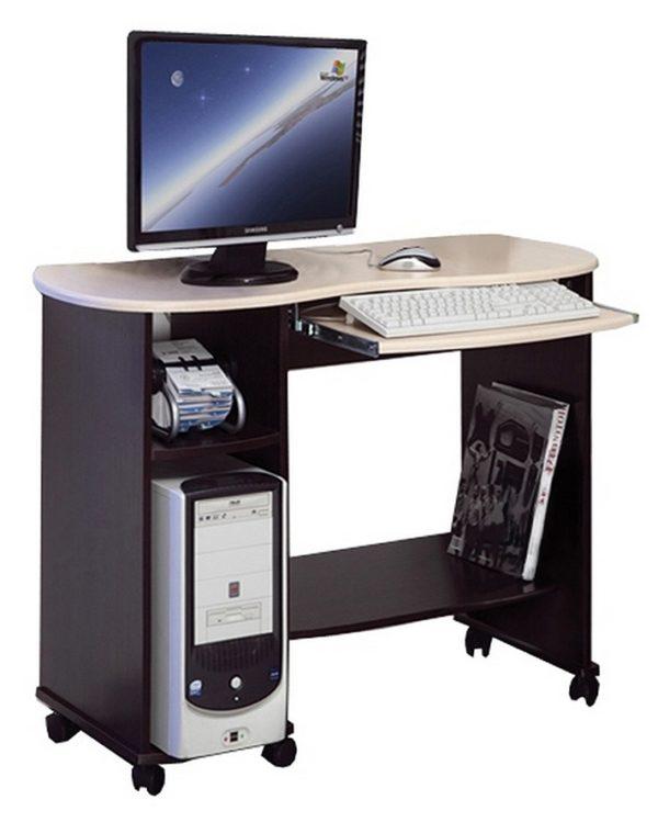 Компьютерный стол Костер-3 венге/клен азия