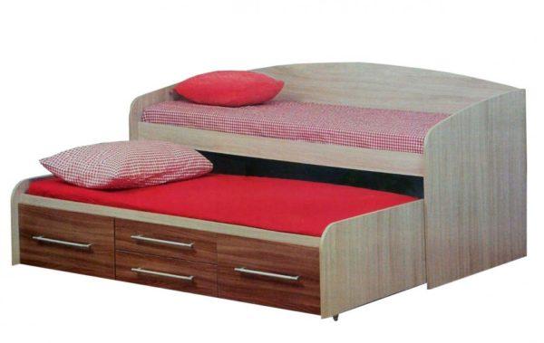 """Кровать двухъярусная """"Адель-5"""" ясень шимо"""