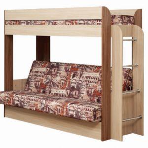 """Кровать без верхнего матраса """"Немо"""" архитектура"""