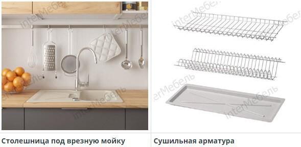 Дополнительная комплектация для кухни Mix Top