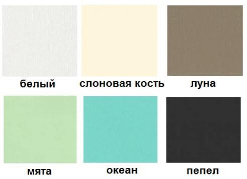 Цвет фасадов для кухни Мила Деко